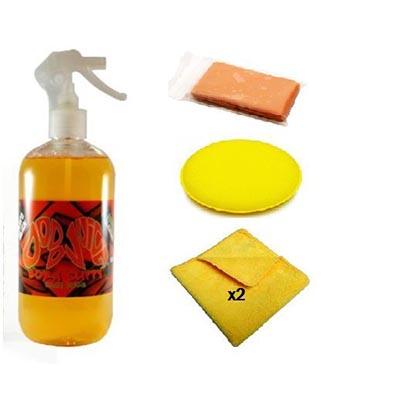 DODO JUICE BORN SLIPPY CLAY LUBE 500ML and ValetPRO 'Ultra Fine' Clay Bar  Kit